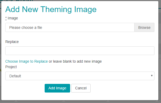 Add Theme Image