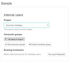 Create Open Poll Sample