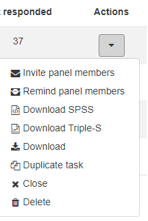 Duplicate Action SurveyMR