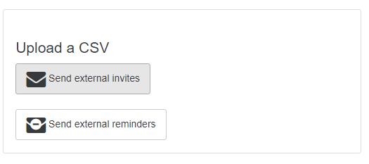 Upload CSV
