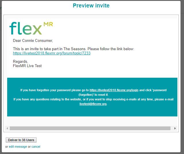 Preview Invite
