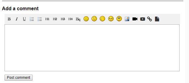 Public Blog Comment
