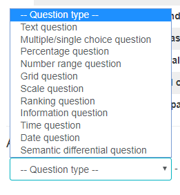 Question Types SurveyMR