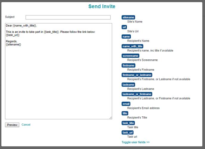 Send-Ivite